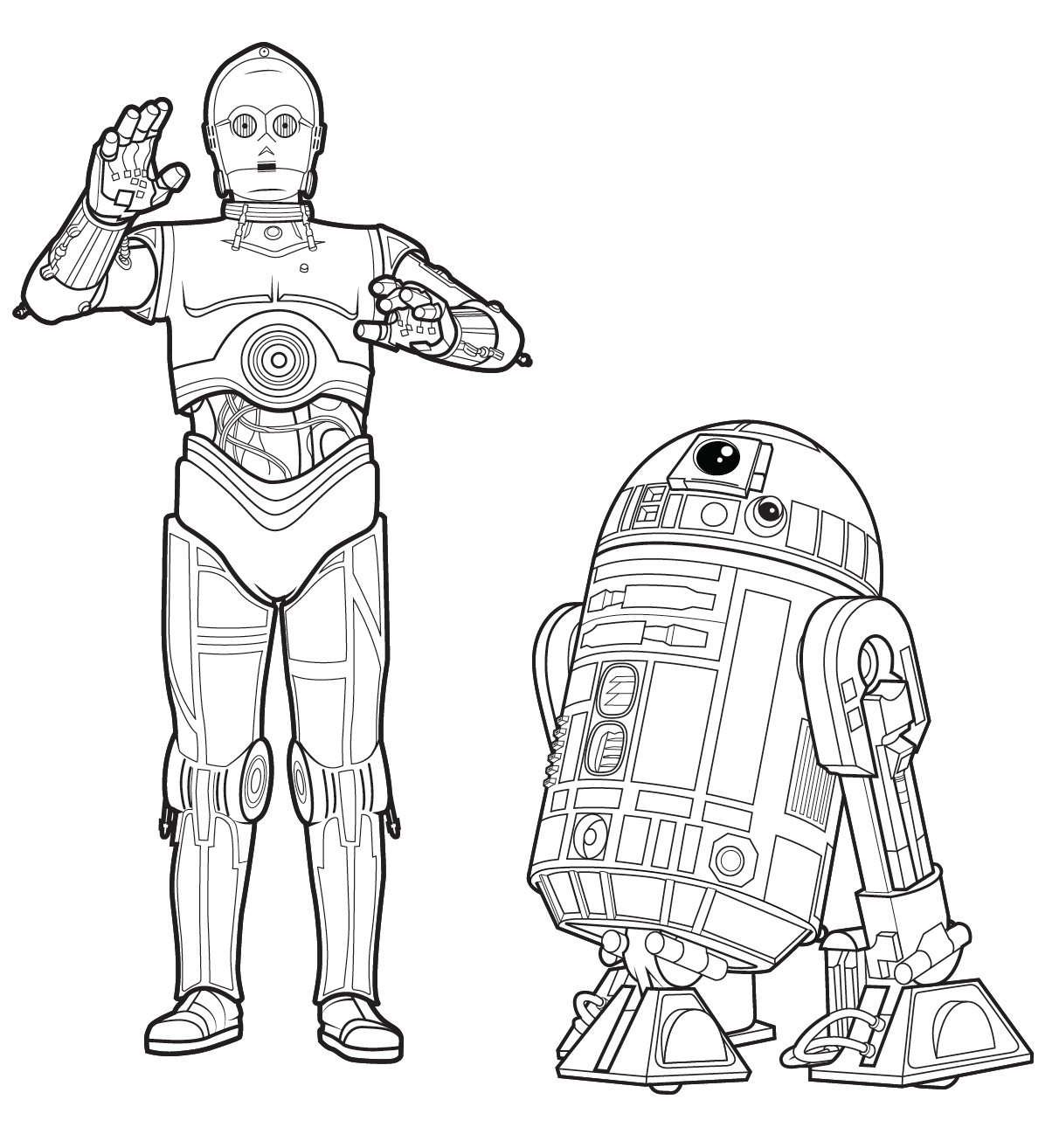 Free Star Wars Coloring Sheets And Activity Kit StarWars