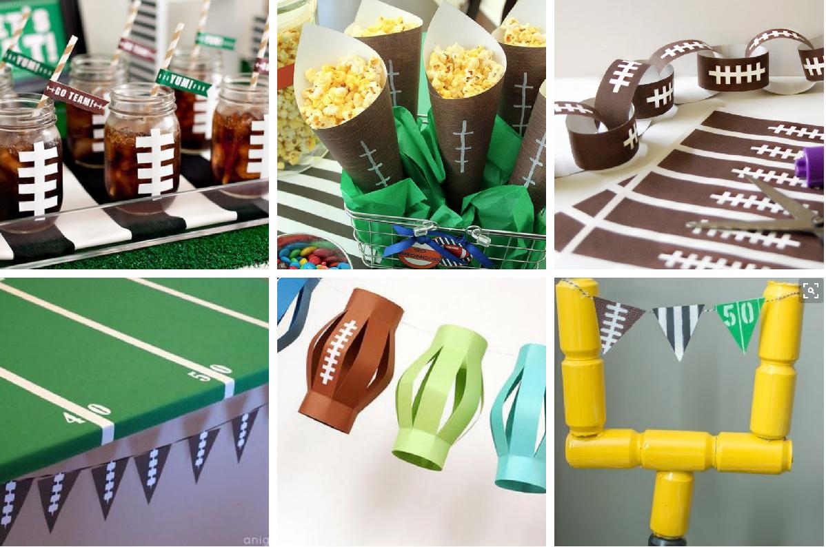 super bowl decorations - Super Bowl Decorations